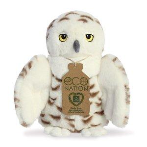 Eco Nation knuffel Sneeuwuil Greenpicnic