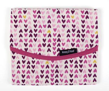 Keepleaf reusable lunchwrap hearts