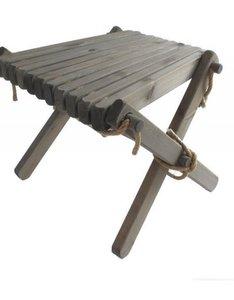 GreenPicnic Lily Table tafeltje van grijs geolied grenen