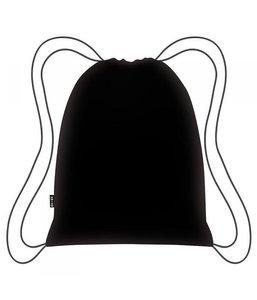 Ecozz zwarte opvouwbare rugzak Easy Travel van rPET