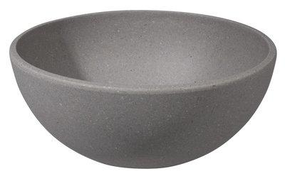 Zuperzozial bamboe big bowl stone grey