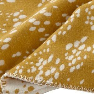 KLippan bio geborsteld katoen CherryDrops geel-wit