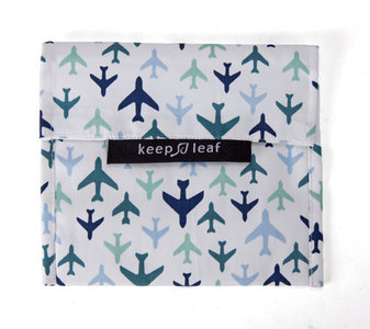 KeepLeaf lunchbag planes