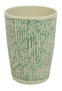 Zuperzozial bamboe zip cup  beker DNA blue
