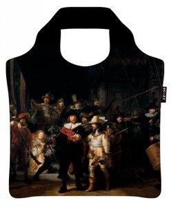 Ecozz opvouwbare tas van r-pet met de Nachtwacht van Rembrand