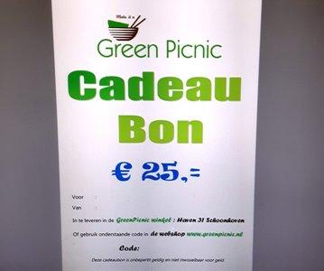 GreenPicnic Cadeaubon €25,00