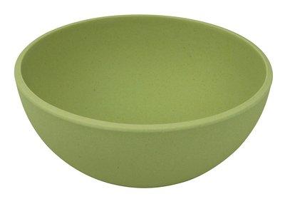 Zuperzozial big bowl kom van bamboe in willow green