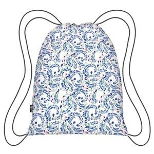 Ecozz opvouwbaar rugzakje met bloemenprint van rPET