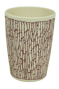 Zuperzozial paarse bamboe zip cup  beker DNA