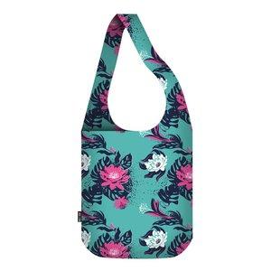 Ecozz cross body bag Tropical tas van gerecycled plastic