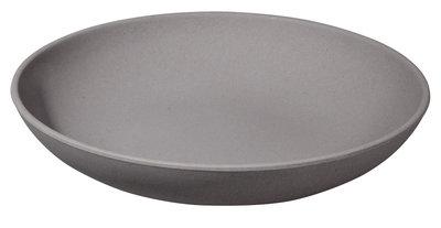 Deep Bite plate diep bord grijs van bamboe