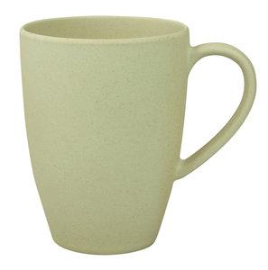 Zuperzozial bamboe beker Lean back mug wit