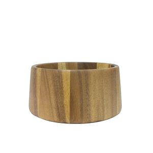 EcoDesign ronde houten Fairtrade schaal