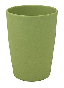 Zuperzozial zip cup groene beker van bamboe