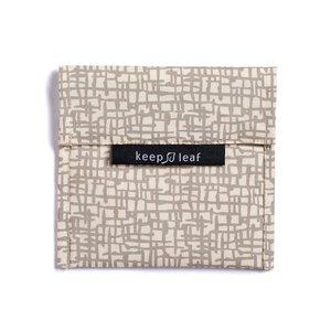 Keepleaf lunchbag beige lunchskin