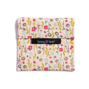 Keepleaf lunchzakje baggie large bloom