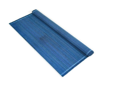 Fairtrade bamboe placemat blauw