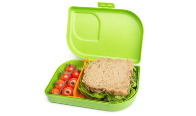 Ajaa Nana groen broodtrommel van bioplastic