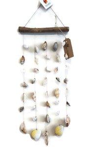 Fairtrade schelpenhanger met hout