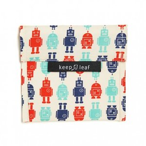 Keepleaf lunchzakje met robotprint