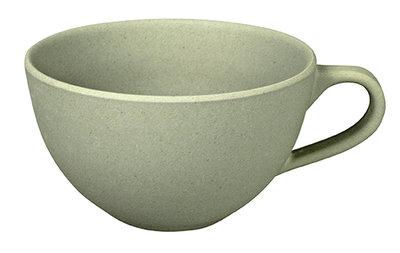 Zuperzozial soup to serve soepkom met oor in grijs