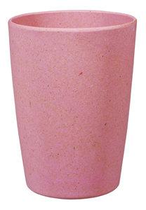 Zuperzozial bamboe beker roze