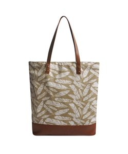 Fairtrade shopper Creme Feather