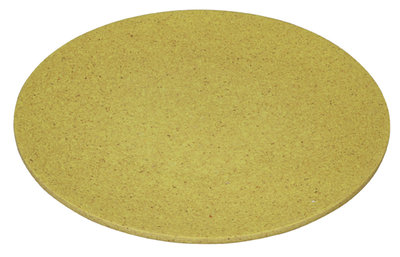 Small bite plate lemony yellow