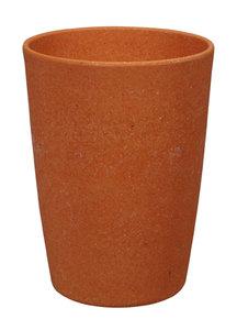 Zuperzozial bamboe beker oranje