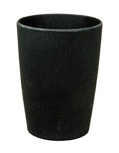 Zuperzozial bamboe beker zwart