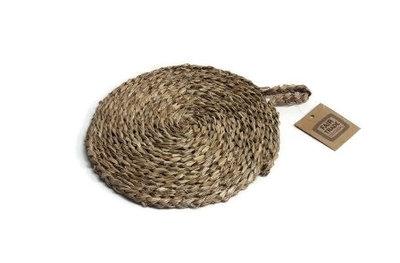 Fairtrade onderzetter van Zeegras