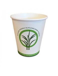 Suikerriet koffiebeker 3dl, 100% composteerbaar