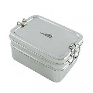 RVS lunchbox met lagen GreenPicnic