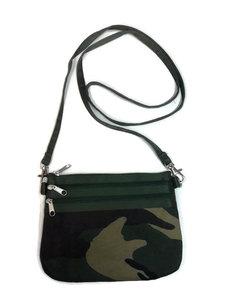 Teranga Camouflage schoudertasje GreenPicnic
