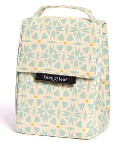 Keep Leaf lunchbag Geo. lunch koeltasje Greenpicnic