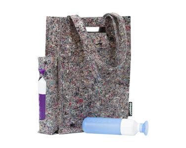 De Dopper Shopper tas met Dopper flessen