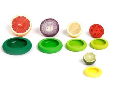 Foodhuggers herbruikbare deksel van siliconen