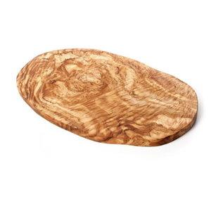 Grote tapasplank of snijplank van olijfhout