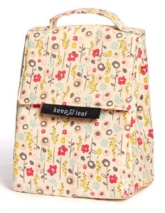 keep leaf lunchbag Bloom, koel lunchtasje