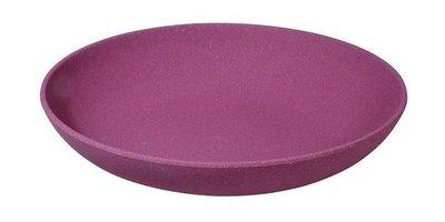 Zuprzozial deep bite plate fig violet, paars soepbord