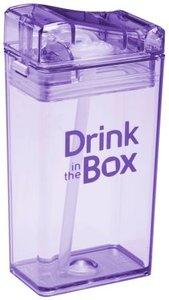 Drink in the Box paars drinkpakje