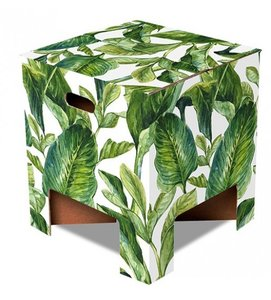 Green leaves Dutch Design Chair
