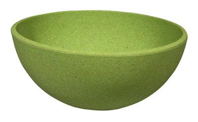Zuperzozial Big Bowl Wasabi green, bamboe kom in groen