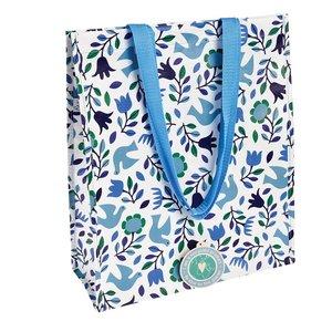 Shopping Bag, tas van gerecycled plastic Folk Doves