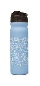 Tulper drinkfles 500ml RVS blauw