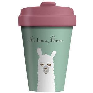 Bamboocup koffiebeker No Drama Lama