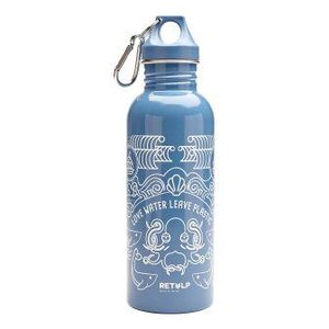 Retulp 750ml drinkfles RVS blauw ocean
