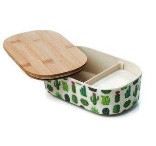 Bamboofriends de luxe lunchbox Cactus
