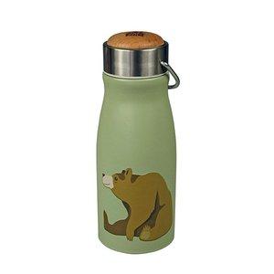 The Zoo thermosfles met Brown Bear print