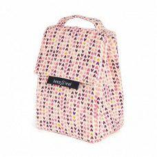 Keepleaf lunchbag Hearts, lunch koeltasje met hartjes print